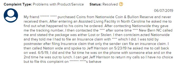 Is Nationwide Coin And Bullion A Scam review 1