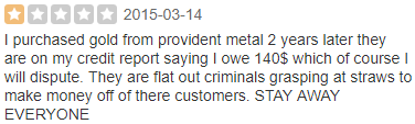 Is Provident Metals Legit Review 2